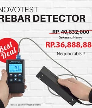 Nego Habis Harga Novotest Rebar Detector