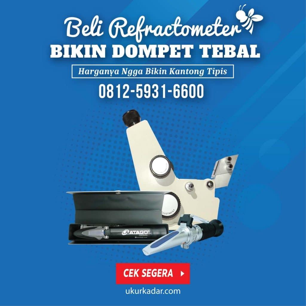 Promo Refraktometer Bikin Kantong Tebal